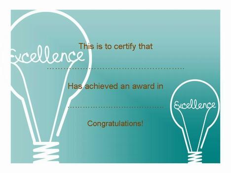 Certificate Clip Art – Set 2 inside page