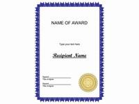 More certificate clip art