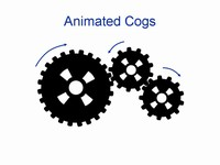 Animated cogs