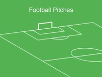 Football pitch template thumbnail