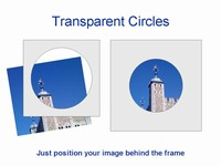 Transparent circles