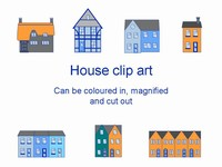 Houses template thumbnail