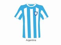2010 world cup individual team shirts