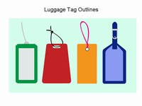 Luggage Tag Template thumbnail