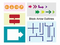 Block Arrow Outlines thumbnail