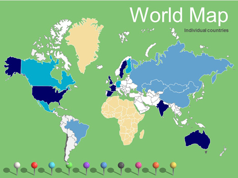 World Maps Vector Editable – Updated inside page