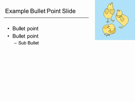chick outline template, Modern powerpoint