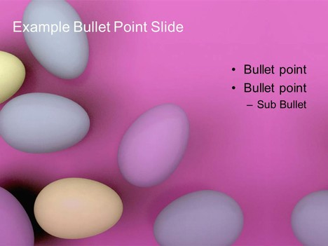 Free Pastel Easter Egg Template inside page