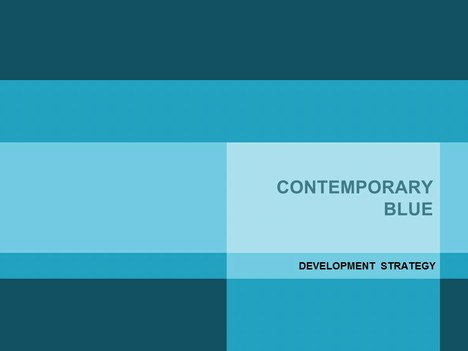 Contemporary blue powerpoint template toneelgroepblik Choice Image