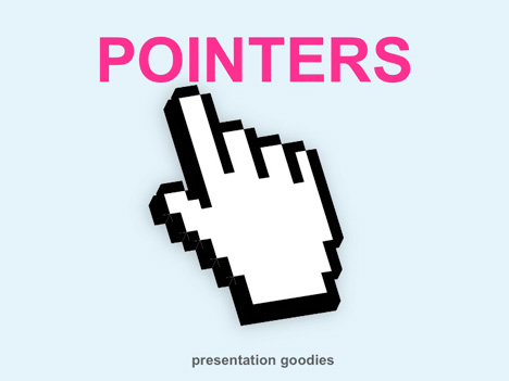 Free Pointer Icons