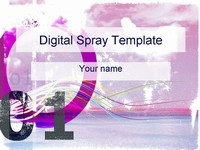 Digital Spray Template