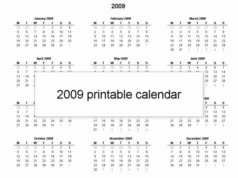468 x 351 jpeg 37kB, Simple PowerPoint template – a yearly calendar ...