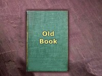 Old Book Design Template 2 - with blank pages