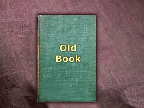 Old Book Design Template 2 – with blank pages