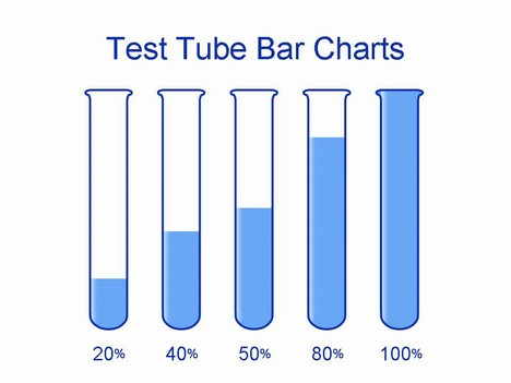 Test Tube Template inside page