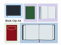 Book Clip Art Template