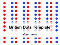 British Dots Template