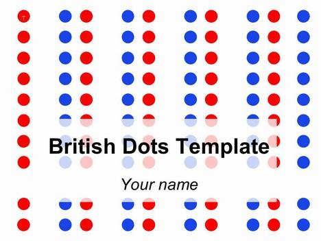 polka dot ppt template