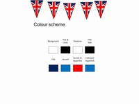 bunting powerpoint template