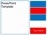 Patriotic PowerPoint Template thumbnail