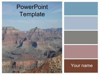 Grand Canyon Template