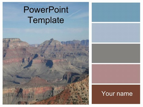 Grand canyon template toneelgroepblik Image collections