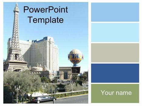 Las vegas powerpoint template toneelgroepblik Choice Image