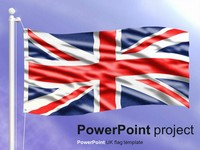 PowerPoint UK Flag thumbnail