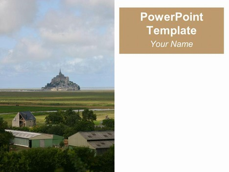 Mont Saint-Michel Template