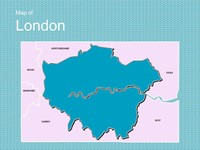 Map of London Template thumbnail