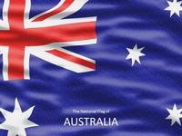 Australian Flag Template