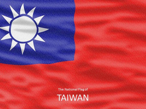 Flag of Taiwan Template