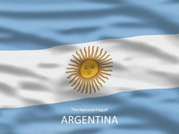 Flag of Argentina Template