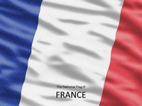 Flag of France Template thumbnail