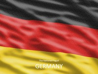 German Flag Template thumbnail
