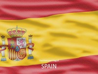 Spanish Flag Template thumbnail