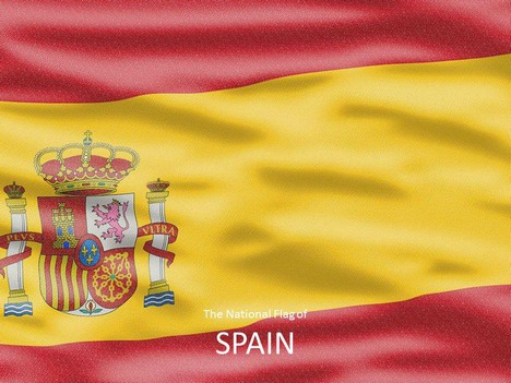 Spanish Flag Template