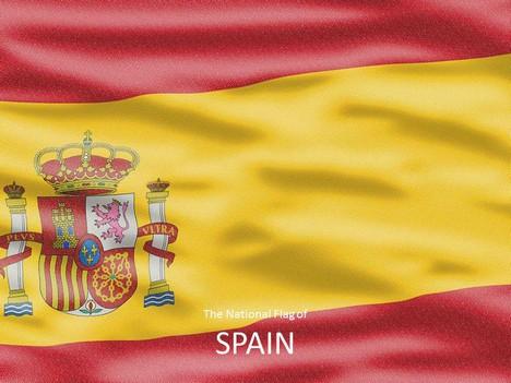 Spanish Flag Template