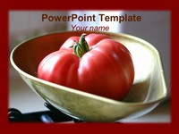 Ripe Tomato PowerPoint Template