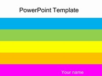 Bold Colours PowerPoint