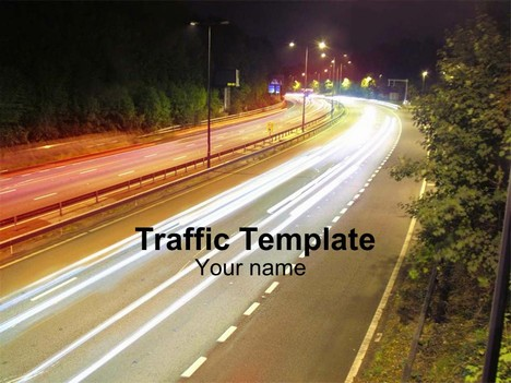 Presentation magazine transport powerpoint templates traffic black template thumbnail toneelgroepblik