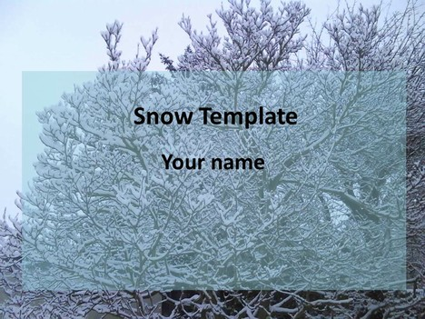 Snow powerpoint template toneelgroepblik Image collections