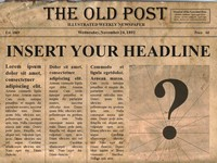 Editable newspaper template portrait free editable old newspaper powerpoint template saigontimesfo