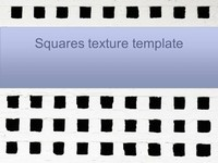Squares texture PowerPoint template thumbnail