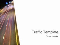 Traffic Template (white)