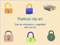 Padlock Clip Art
