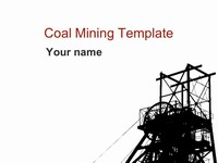 Coal Mining Template thumbnail