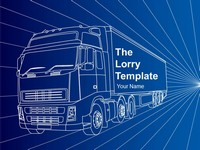 Lorry Template (blue)