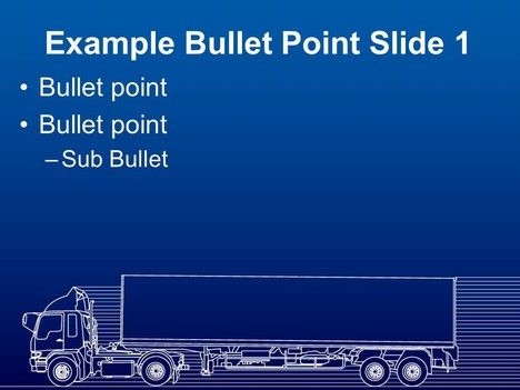 Lorry Template (blue) inside page