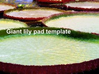 Lily Pad Template